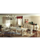 French Antique Dining Room Set furniture NFDS24